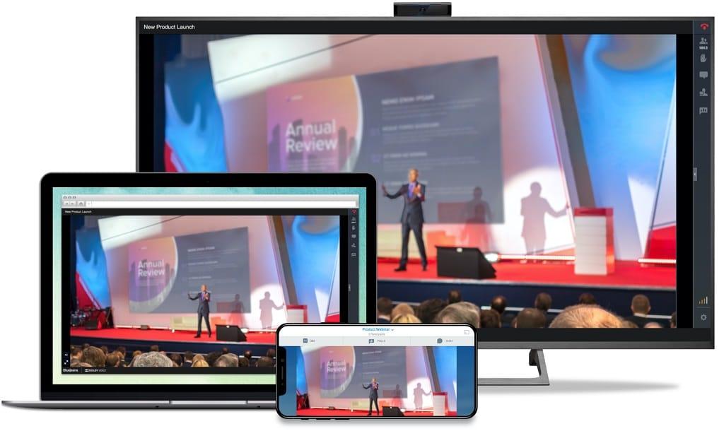 BlueJeans Events erlaubt digitale Veranstaltungen mit bis 50.000 Teilnehmern