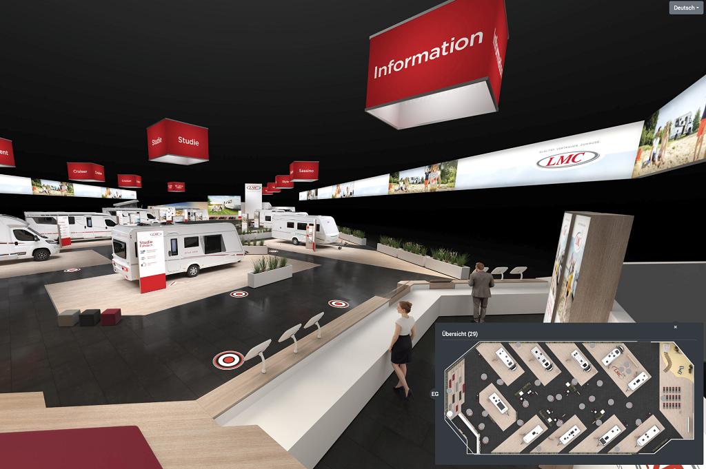 LMC Caravan virtueller Messestand