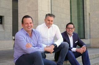 Führungstrio von PP Live: Patrick Birkenfeld, Thorsten Radtke, Christoph Symeonidis (v.l.)