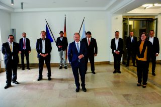 Rettungsdialog mit Bundesfinanzminister Olaf Scholz