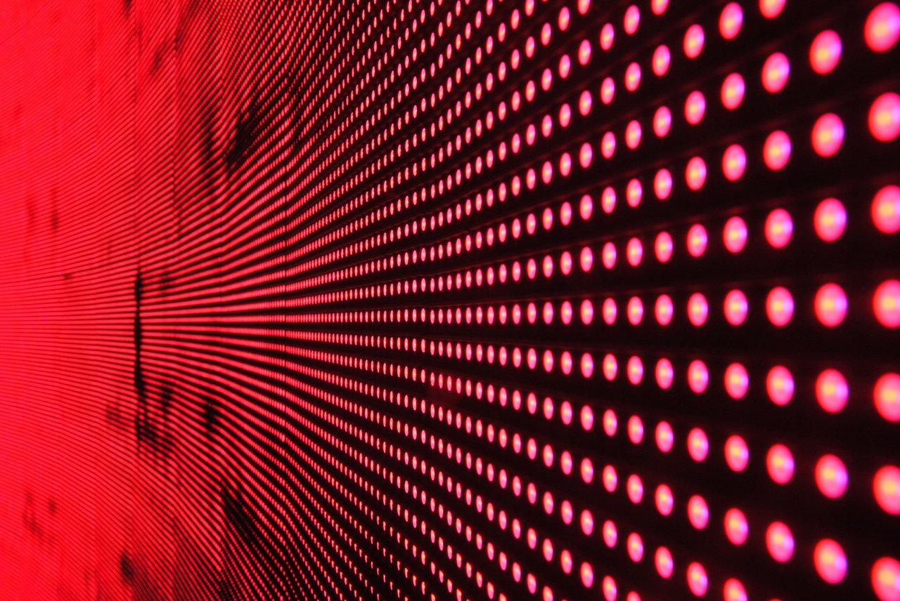 digital led wand licht