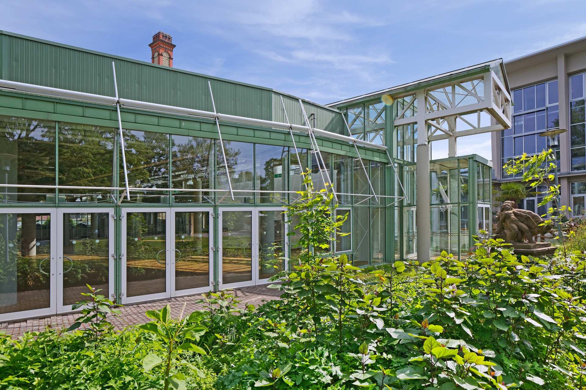 Gartenhalle des Kongresszentrums Karlsruhe