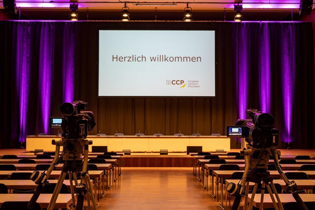 CongressCentrum Pforzheim_Hybrid-Events