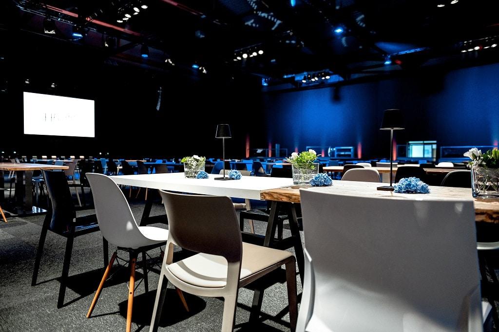 Insgesamt 3.800 m² Fläche können in der H5 Safe Event Location kreativ bespielt werden.