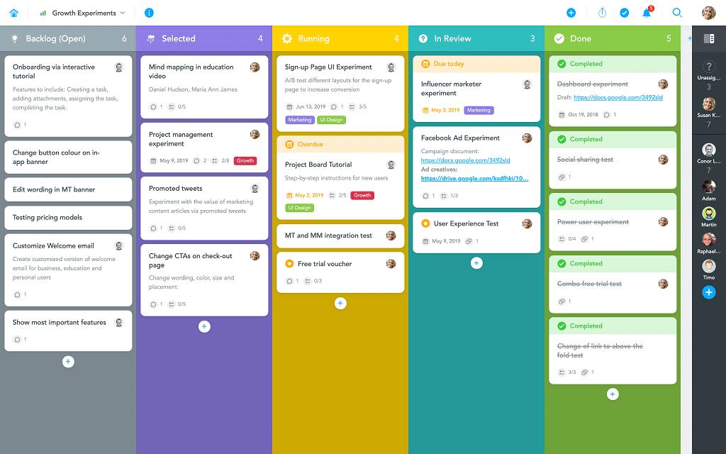 MindMeister ermöglicht die Visualisierung von kollaborativem Brainstorming und Task-Management.