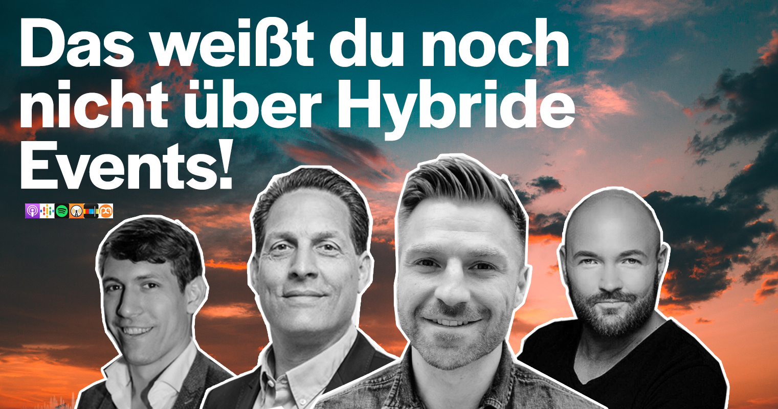 Podcast Hybrid-Events