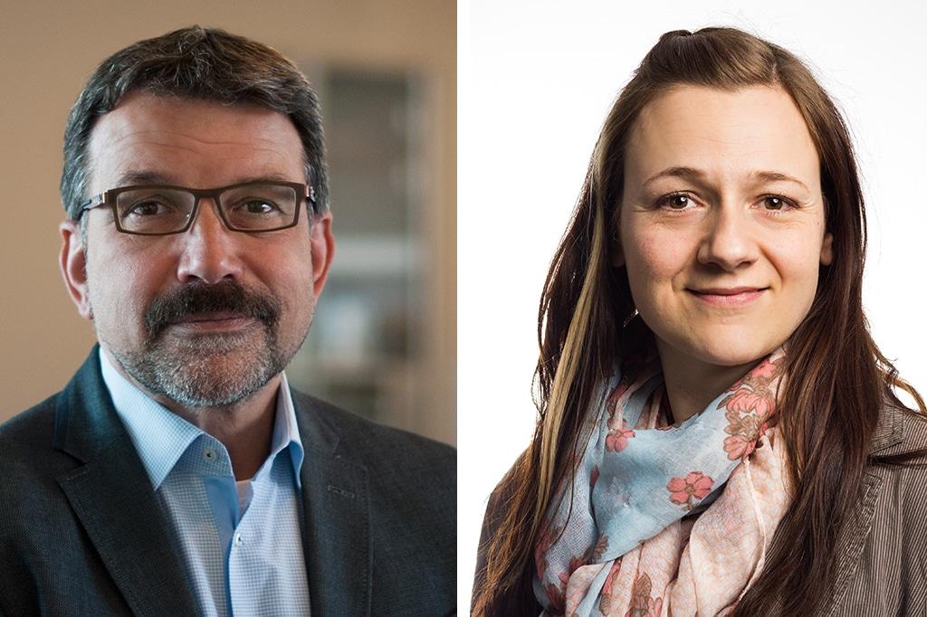 Roger Rinke und Christine Meinecke-Wohlthat