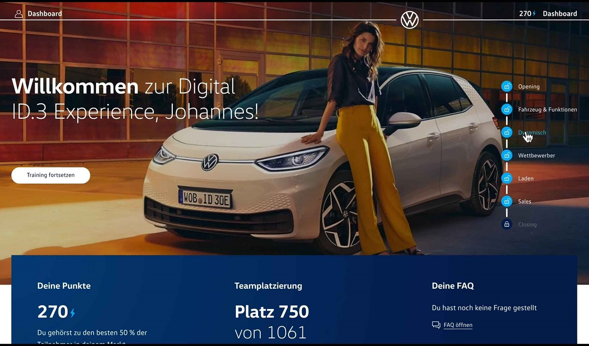 Digital ID.3 Experience Plattform