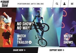 ShareYourShow_Online-Plattform