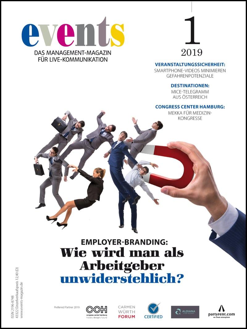 Produkt: events Magazine 01/2019 Digital