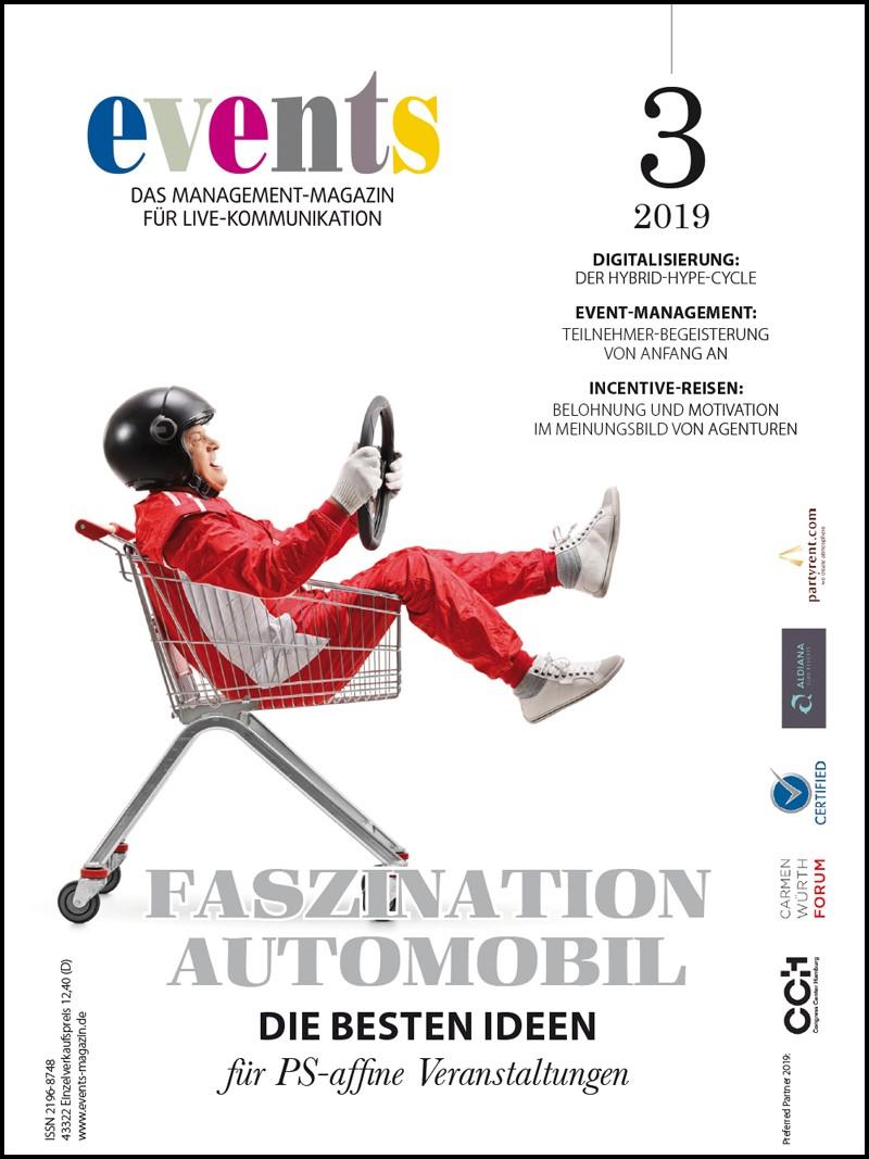 Produkt: events Magazin 03/2019