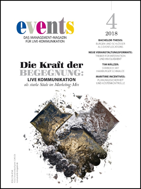 Produkt: events Magazine 04/2018 digital