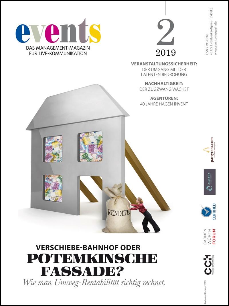 Produkt: events Magazine 02/2019 Digital
