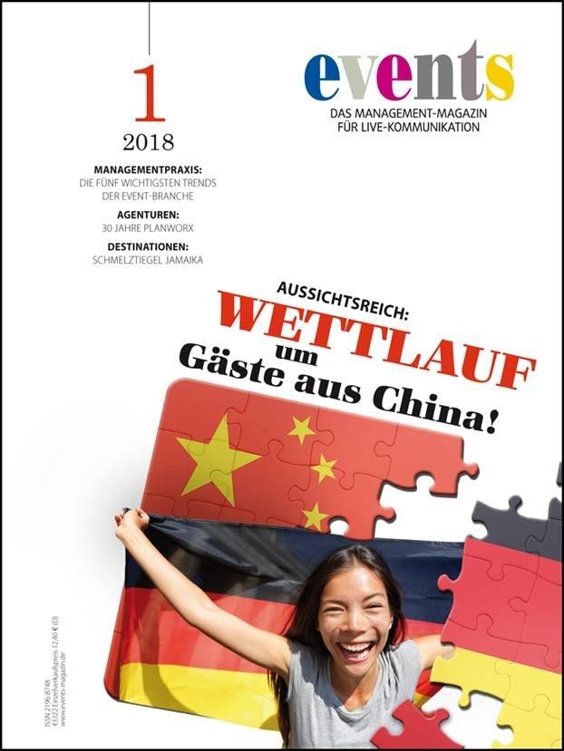 Produkt: events Magazin digital 01/2018