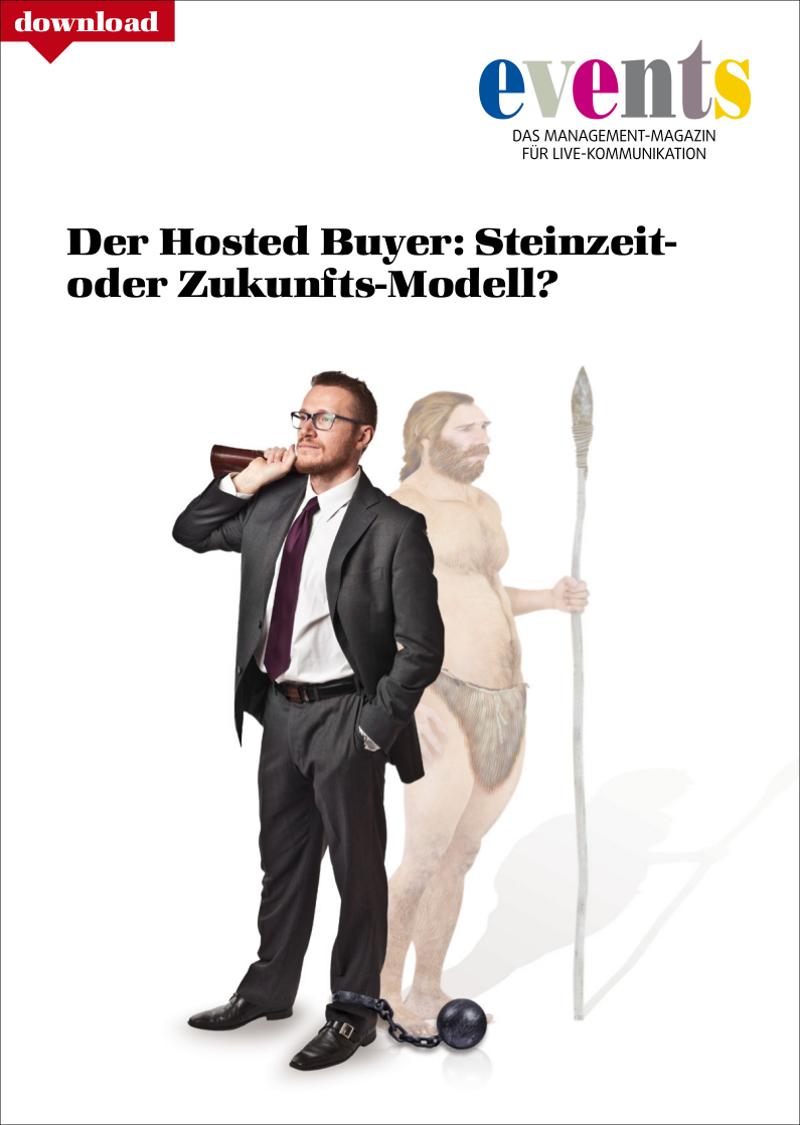 Produkt: Kostenloser Download: Der Hosted Buyer – Steinzeit- oder Zukunfts-Modell?