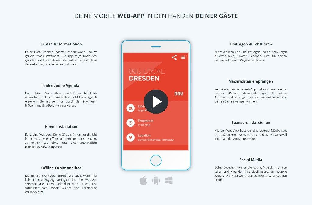 lineupr_Event-App-Visualisierung