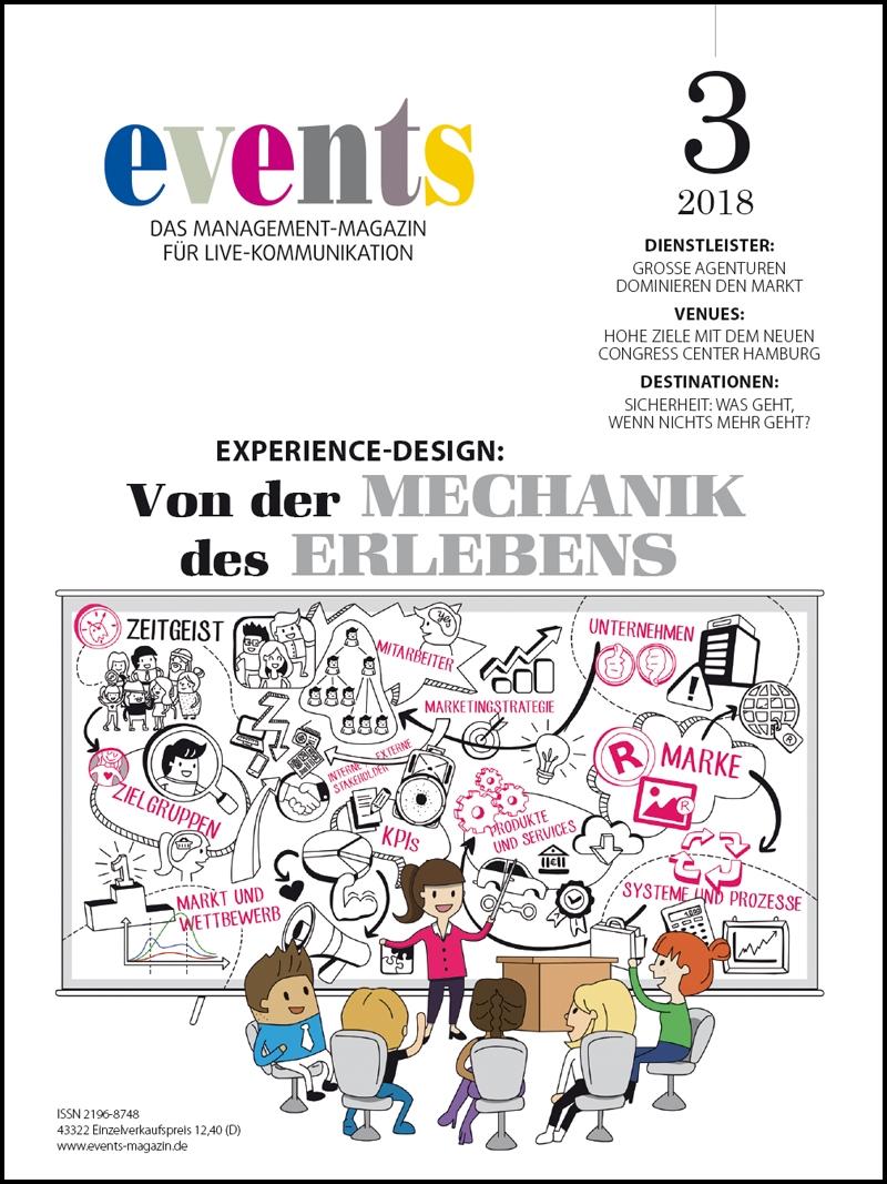 Produkt: events Magazine 03/2018 Digital