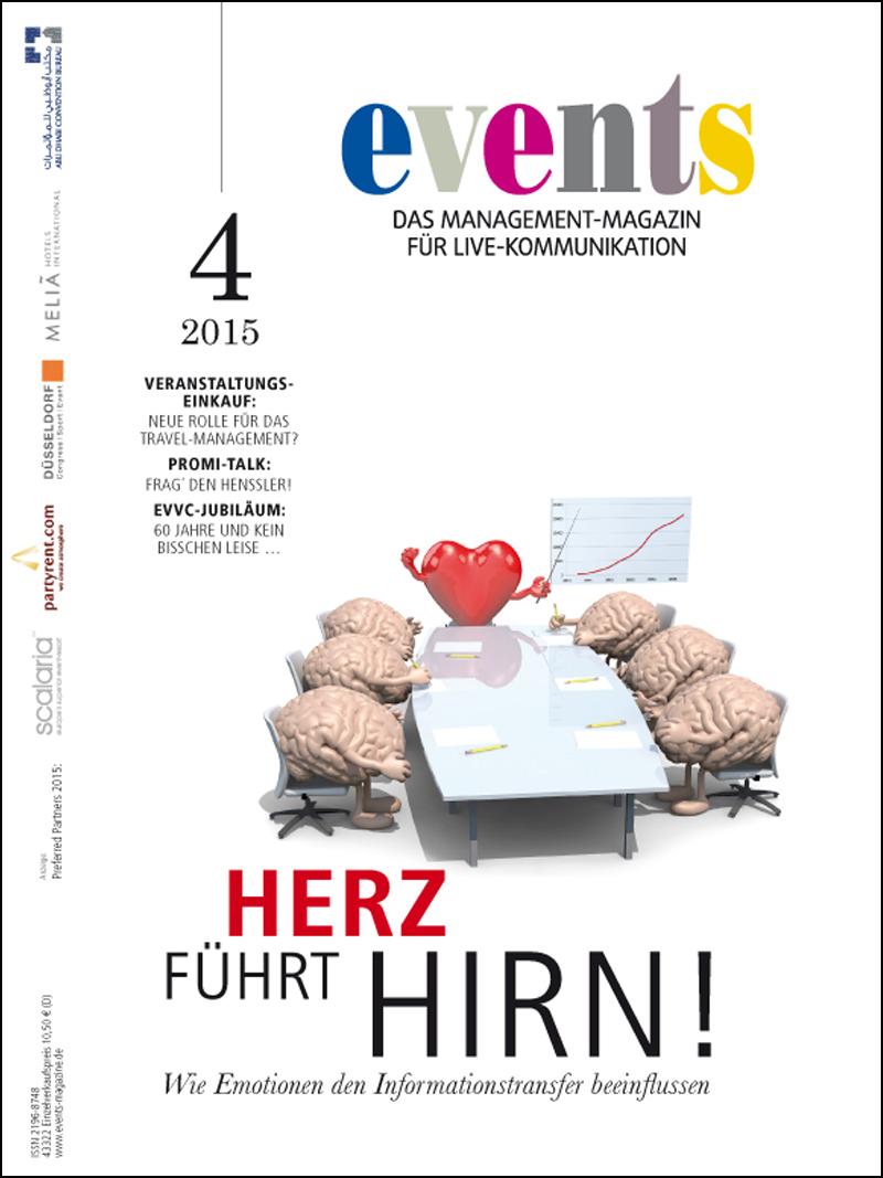 Produkt: events Magazin Digital 04/2015