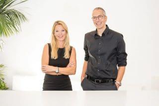 Brigitte Nussbaum und Martin Danner