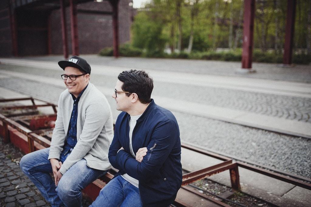 Ricardo Betting (l.) und Marco Skrubej