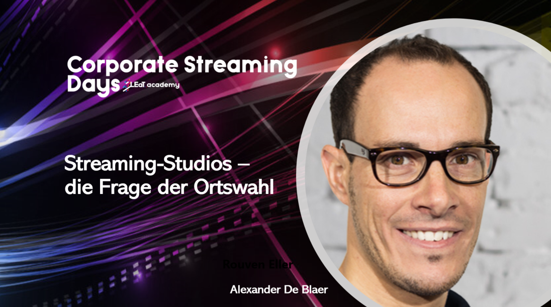 Alexander De Blaer Corporate Streaming Days