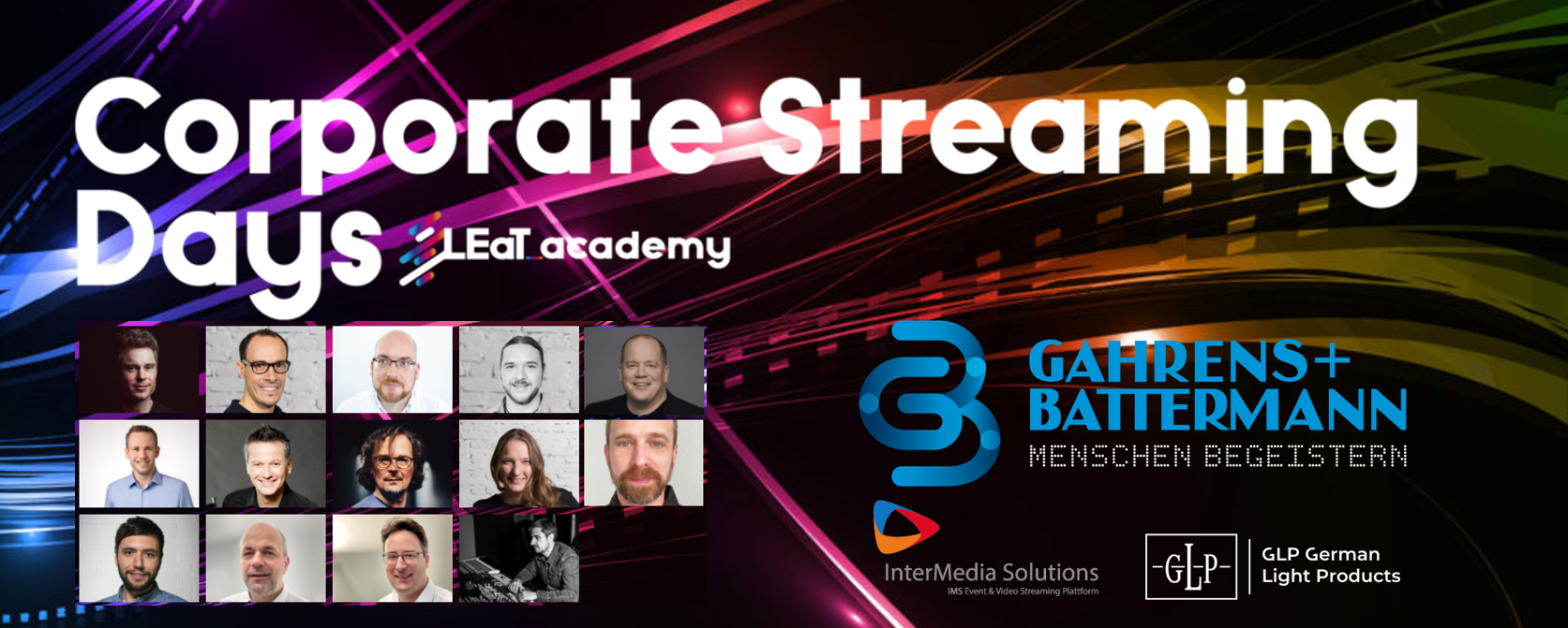 Corporate Streaming Days LEaT academy