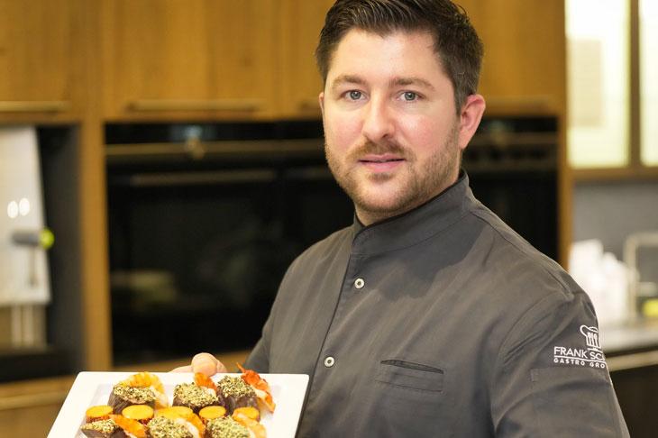 Küchenmeister Angelo Vocale ist der kreative Kopf der S-Chefs.