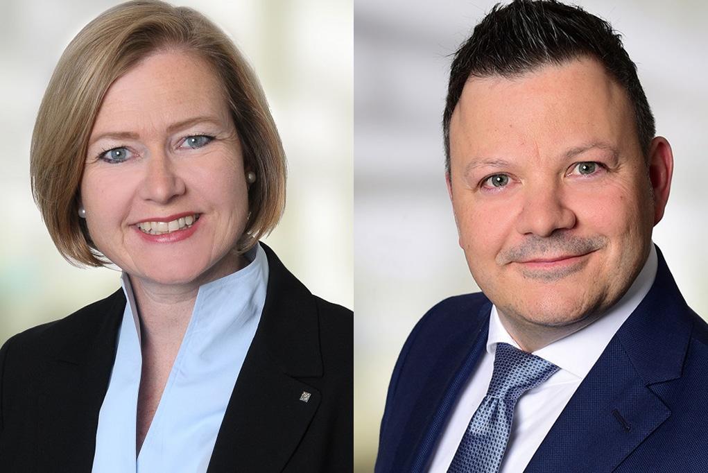 Britta Wirtz und Holger Klanfer