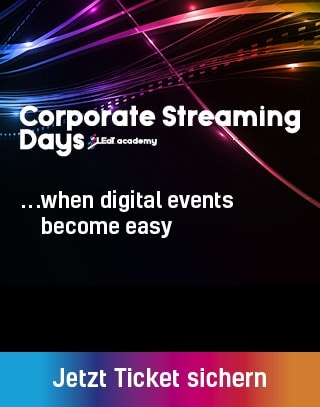 Produkt: Corporate Streaming Days: On Demand only