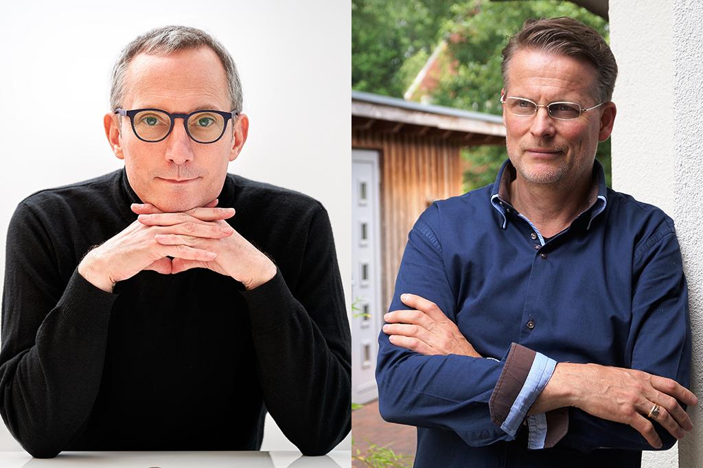 Colja Dams (l.) und Reinhard Pommerel