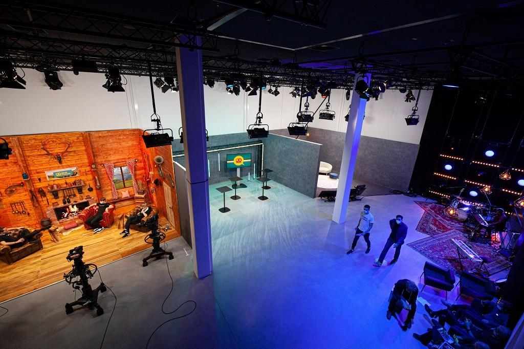 Studio-Set-up im München Hoch5