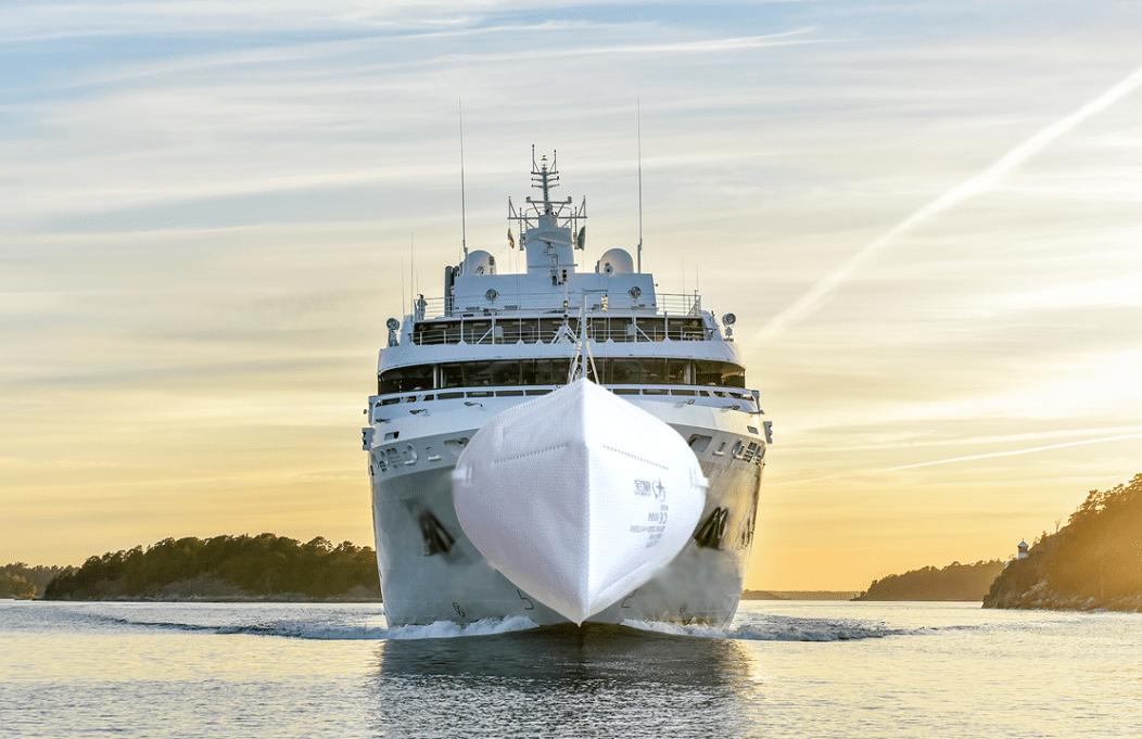 In Zeiten von Corona sind die Vorsorgekonzepte der Reedereien vorbildlich.
