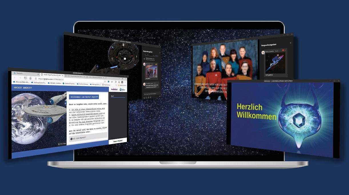 digitale Außendiensttagung von Merck und Pfizer