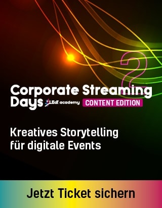 Produkt: Corporate Streaming Days 2: Content Edition – On Demand only