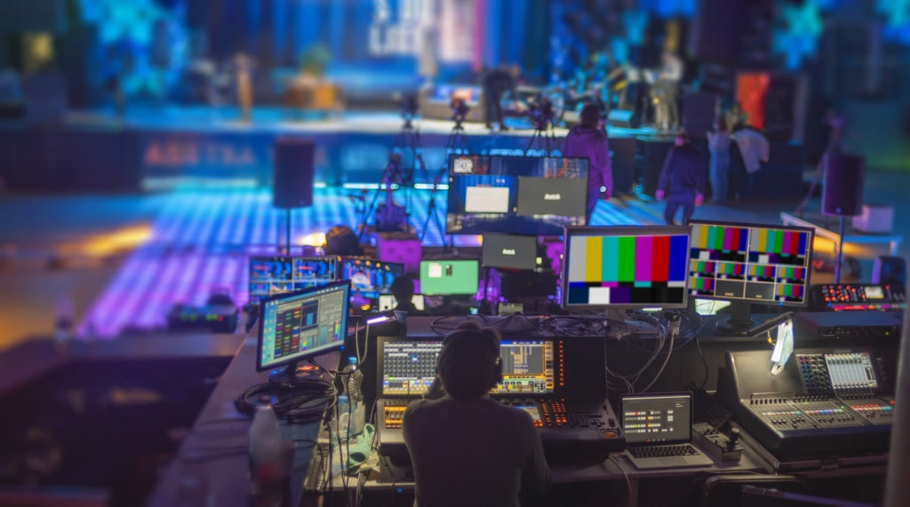 Stockphoto Online-Broadcast
