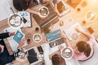 Projektmanagement-Nachhaltigkeit-Team-Gruppenarbeit-Kreativitaet