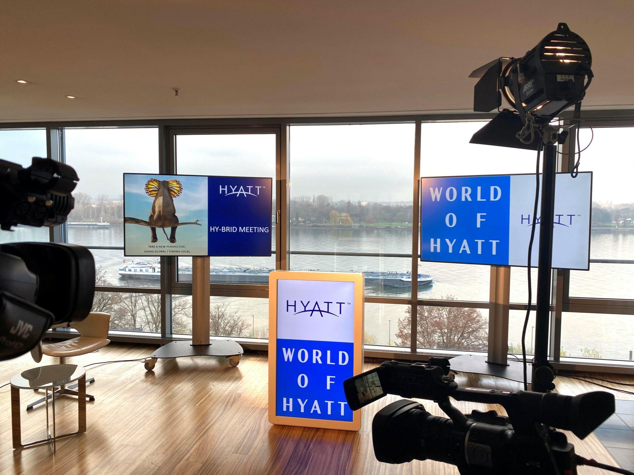 Hyatt Regency Mainz Hybrid Pop-Up Studio