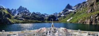 Norwegen lässt ab 2026 nur noch klimaneutrale Kreuzfahrtschiffe in seine Fjorde.
