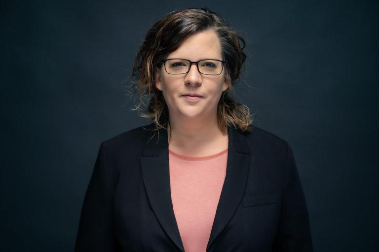 Sandra Beckmann, Mit-Initiatorin des Aktionsbündnisses #AlarmstufeRot.