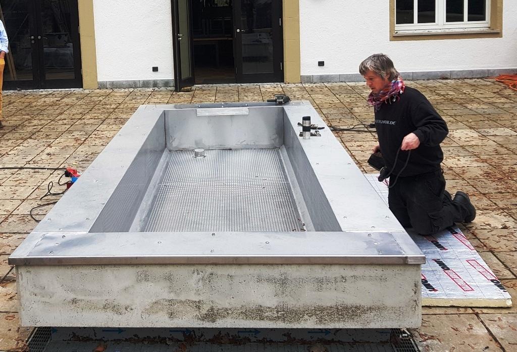 Anstatt Live-Wassershows fokussierte sich Christian Eid dieses und letztes Jahr u. a. auf Springbrunnen.