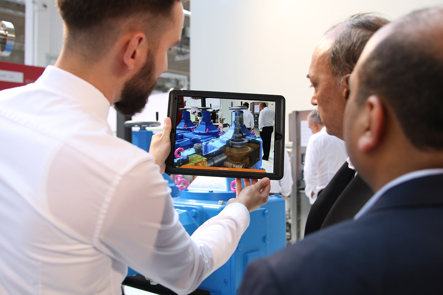 LEWA Produktpräsentation mittels AR-App