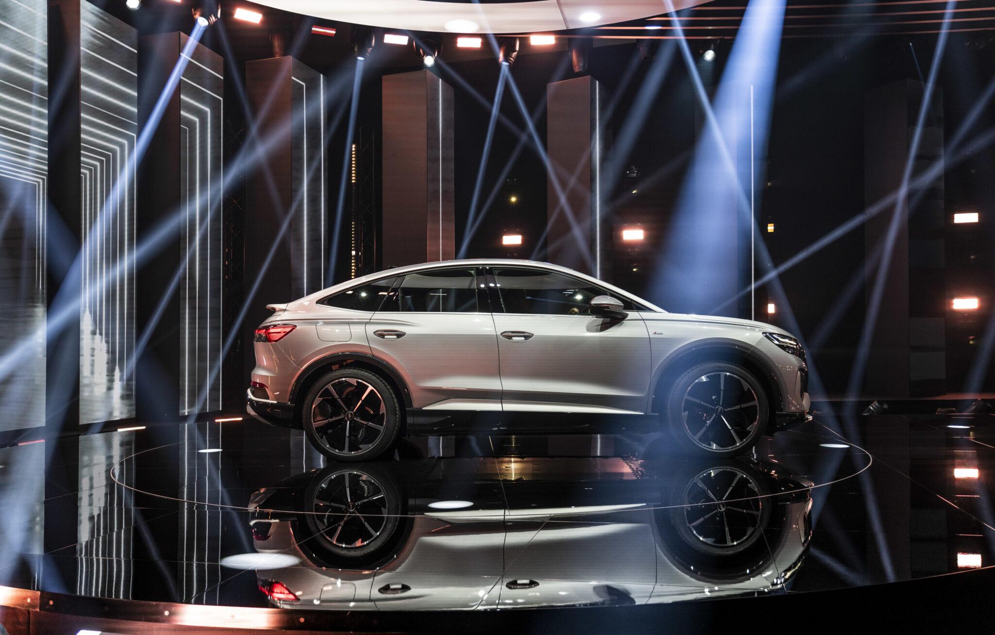 Weltpremiere Audi Q4 e-tron