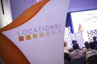 Locations Messe