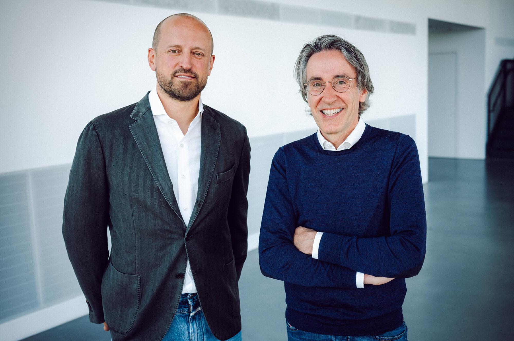 Dr. Marc Schumacher (l.) und Martin Schnaack