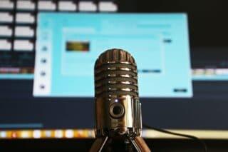 Podcast-Mikrofon-Technik-Audio