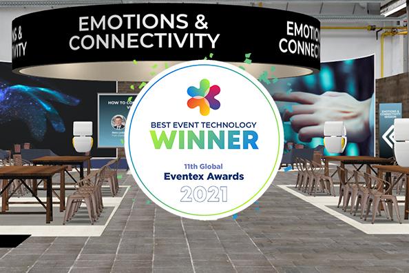 Allseated EXVO - Gewinner des Eventex Awards