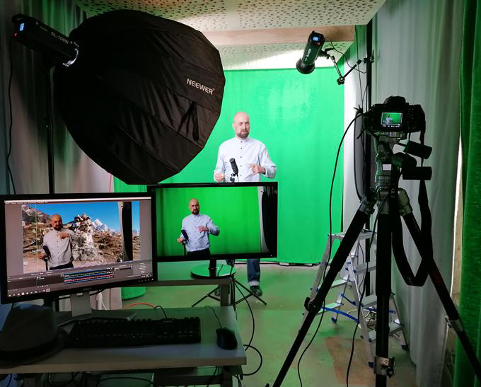 Greenscreen Studio Marienburg