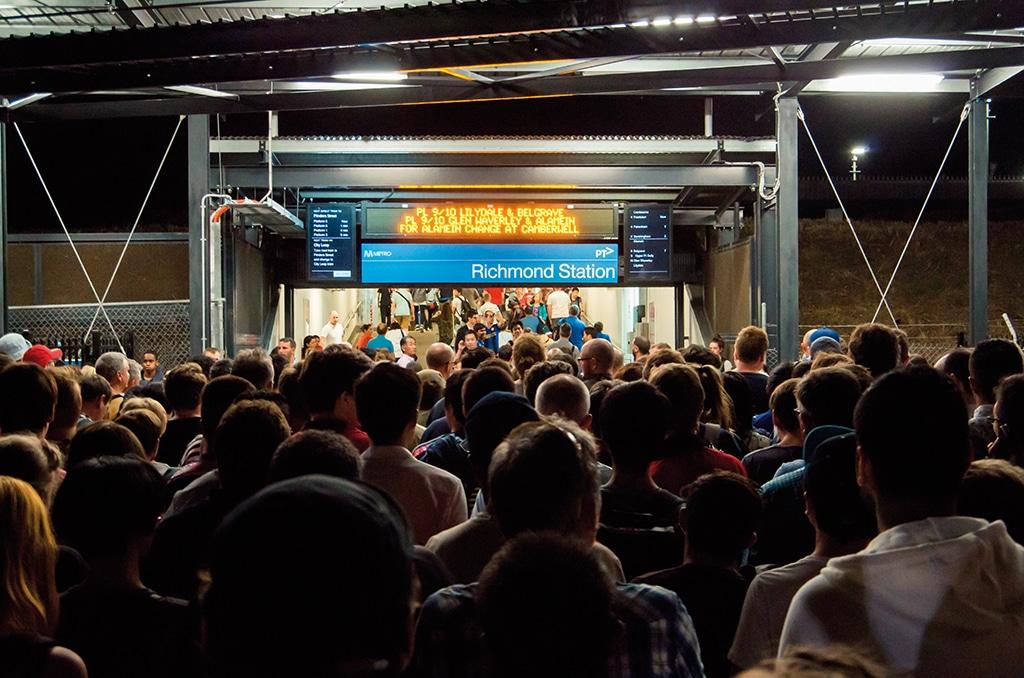 Last-Mile-U-Bahn-Event