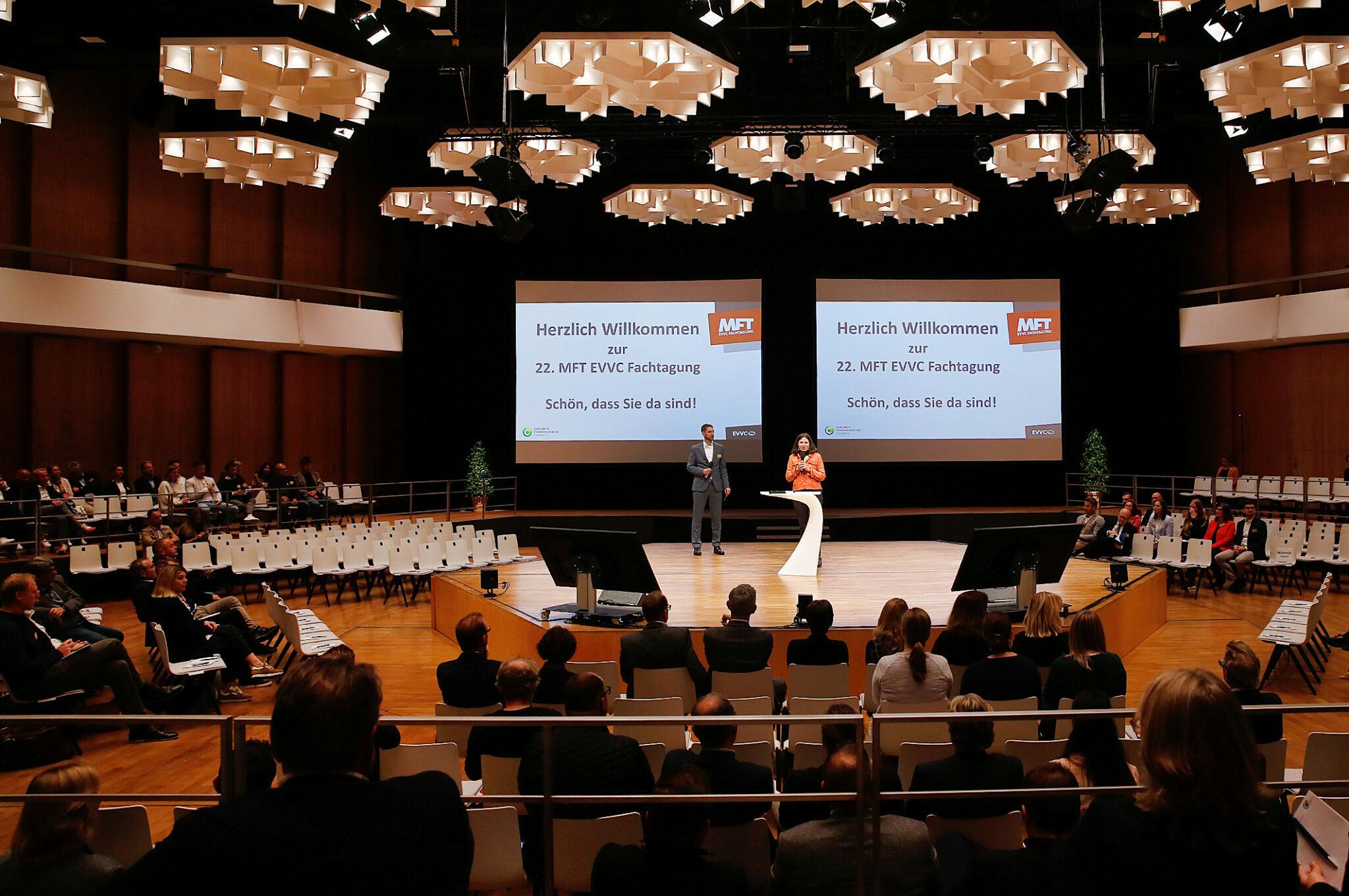 22. EVVC Fachtagung im Carlowitz Congresscenter Chemnitz
