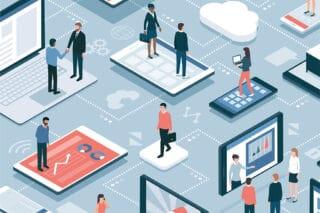 Vernetzung-Digital-Menschen-Technik-virtuell